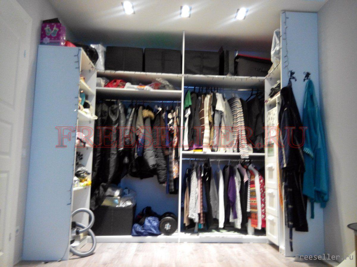 Схема гардеробной своими руками фото 178