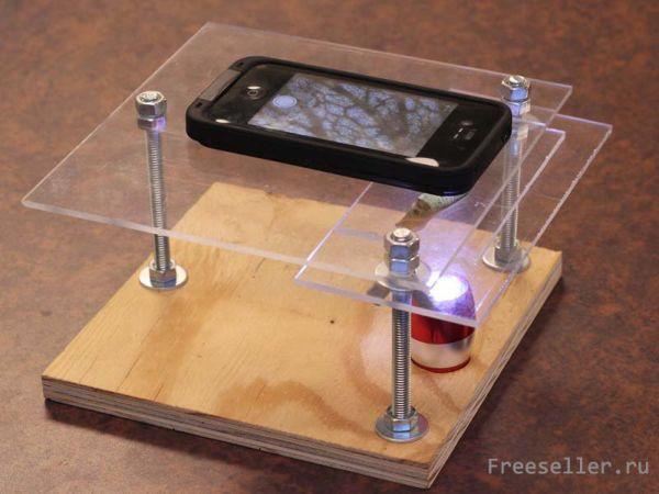 Микроскоп из телефона