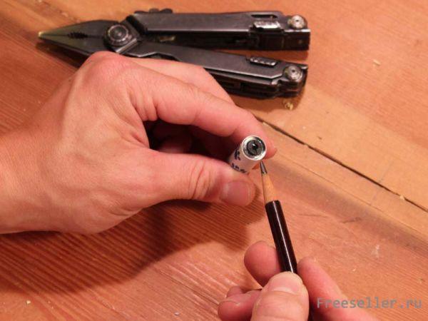 Как сделать микроскоп из объектива 793