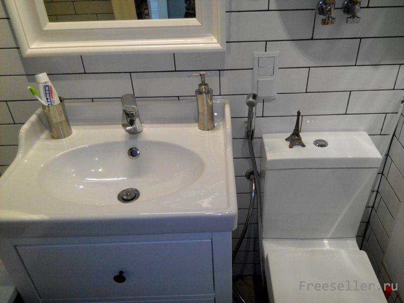 Монтаж смесителя в ванной своими руками