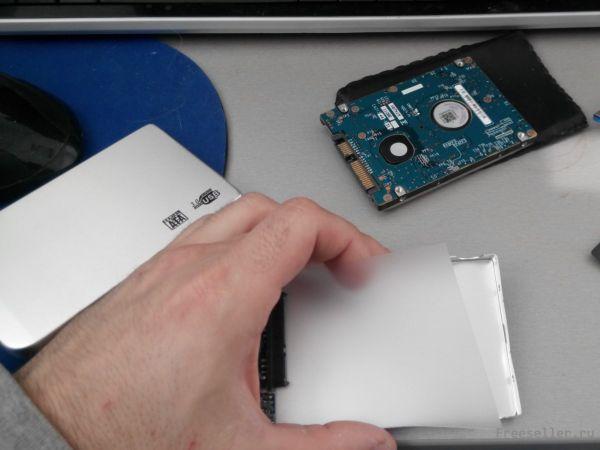 Внешний жесткий диск своими руками