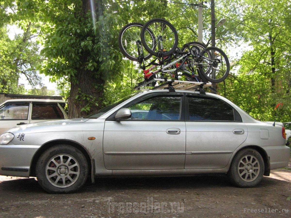 Багажник для велосипедов самодельный