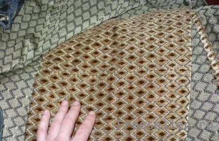 Как перетянуть диван самостоятельно