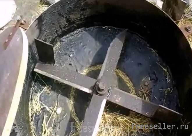 Измельчитель сена видео своими руками
