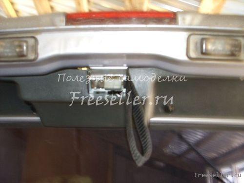 Электропривод замка багажника на ВАЗ 2114