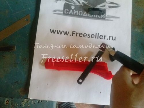 Нож Мини ножовка из канцелярского ножа