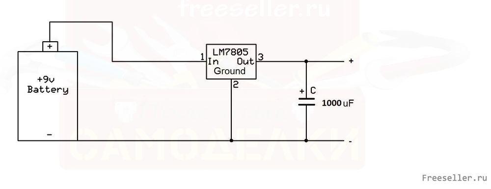 схема зарядного для планшета 12 вольт