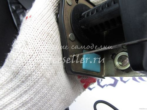 Ремонт клинящего ремня безопасности на автомобилях ВАЗ