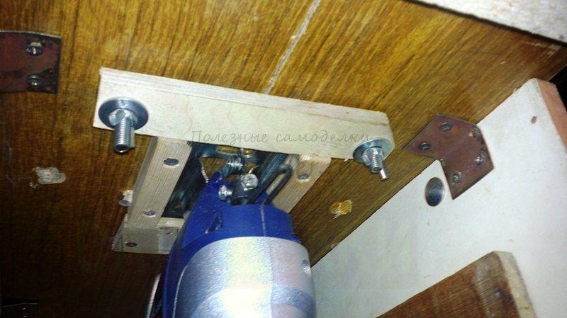 Станок из электролобзика своими руками фото 398