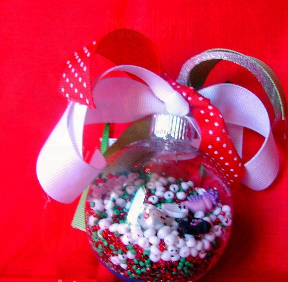 Новогодние игрушки из воздушных шариков своими руками