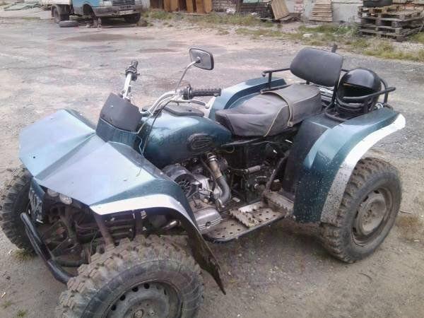 Самодельный мотоцикл из авто