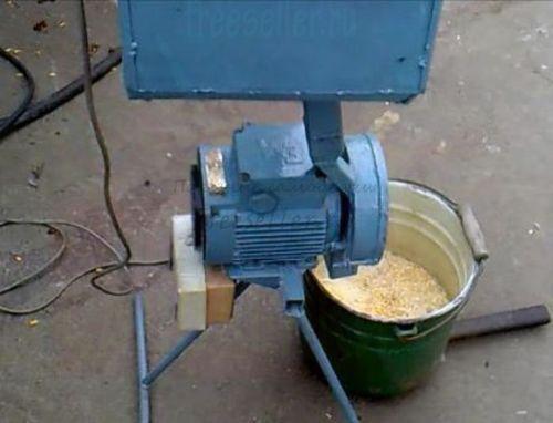 Как сделать дробилку своими руками зерно