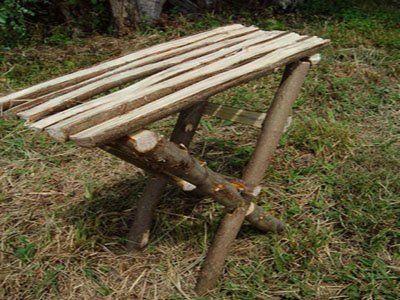 Как из бревен сделать стол