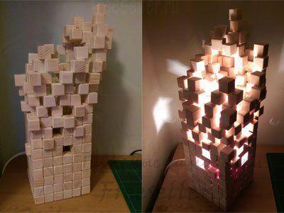 Что можно сделать из деревянного кубика
