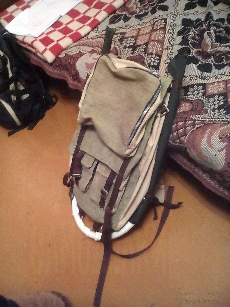 Самодельный рюкзак из рюкзак mag taller biuty