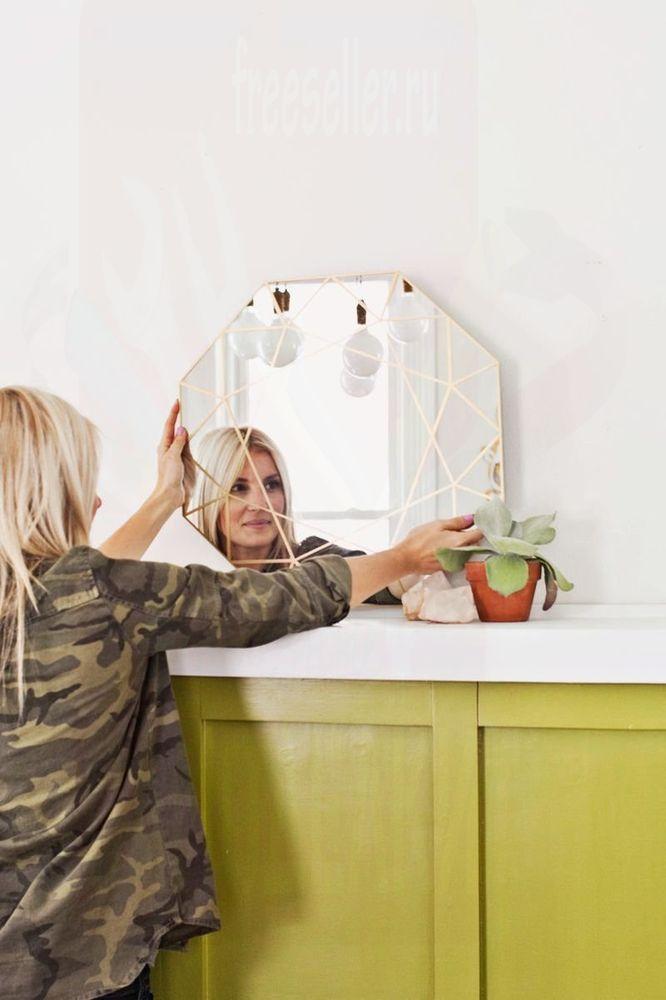 Декорируем зеркало своим руками