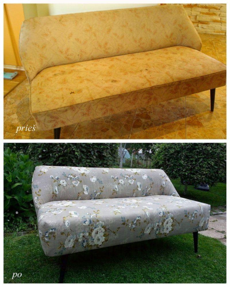 Старый диван своими руками 282