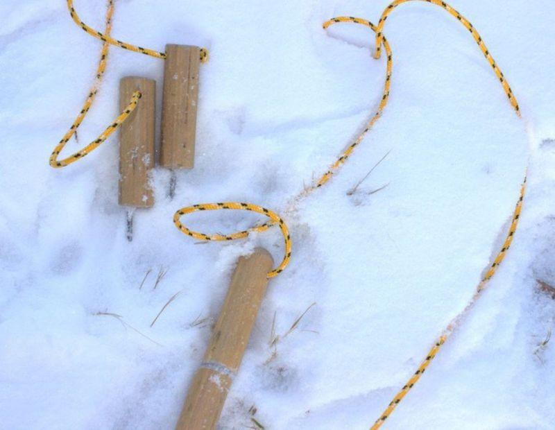 Как сделать лук из лыжи своими руками