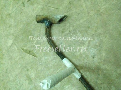 Самодельный ручной штроборез для газобетона