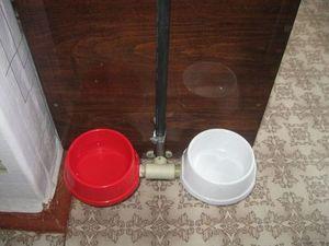 Подъемник для собачьей миски - тарелки