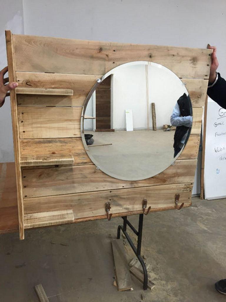 Зеркало для дачи своими руками 9