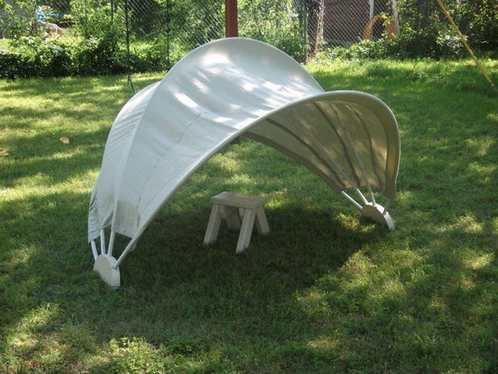 Защита от солнца на даче