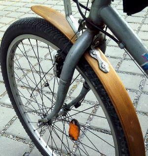 Деревянное крыло велосипеда своими руками