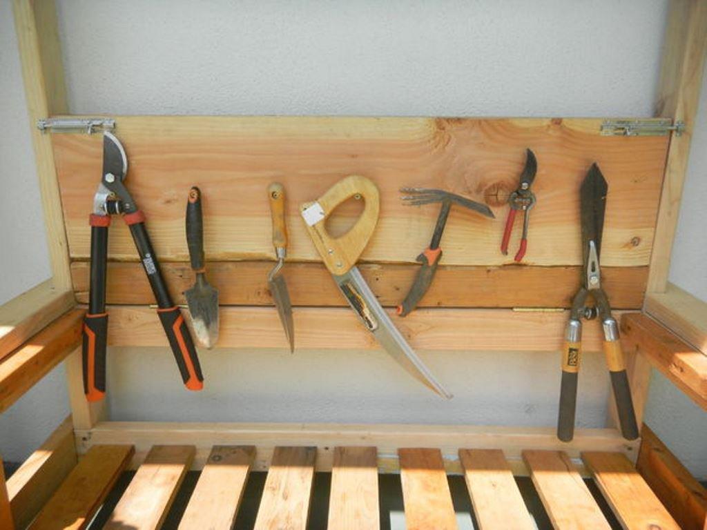 Хранение садового инвентаря своими руками фото 890