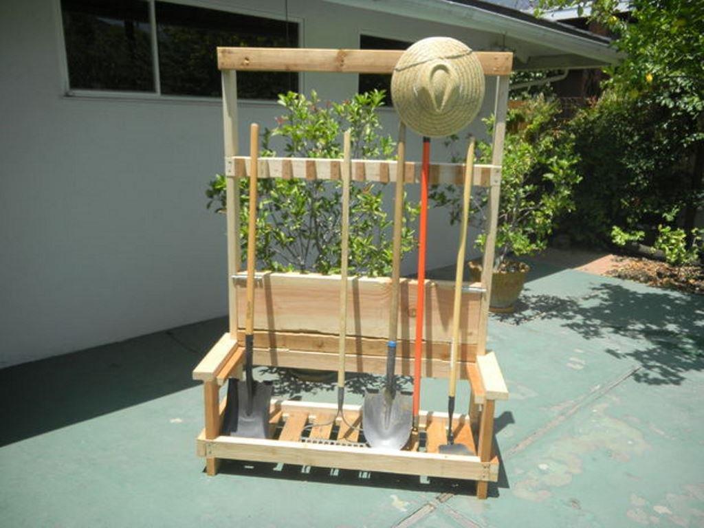 Хранение садового инвентаря своими руками фото 167