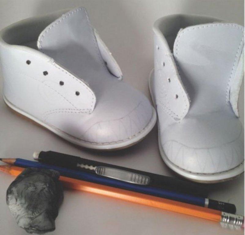 Обувь своими руками для ребенка