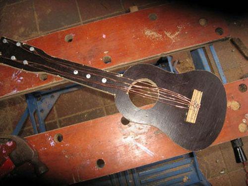 Делаем гитару своими руками 66