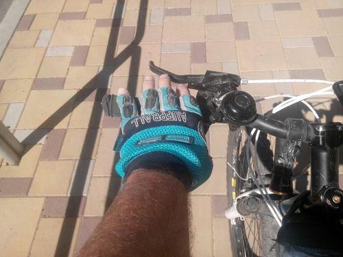 Велоперчатки своими руками