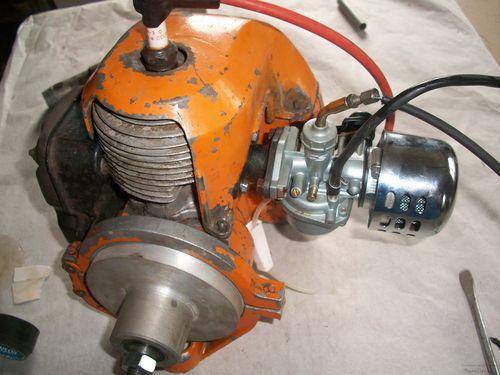 самодельный лодочный мотор из бензопилы дружба чертежи