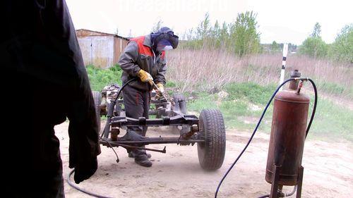 Пескоструйный аппарат из газового баллона