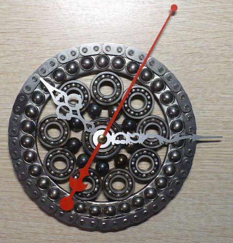 Часы из запчастей своими руками 23