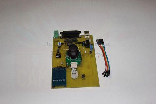 Контроллер для 3D станка с ЧПУ для изготовления печатных плат