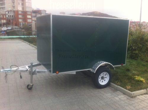 Грузовой фургон на базе легкового прицепа