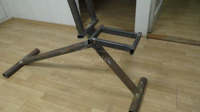 Скамья для жима лежа - Изготовление универсальной скамьи - Сделай Сам 64