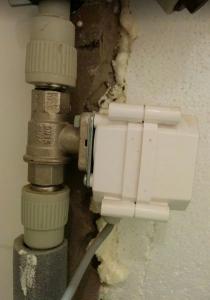 Защита от протечки воды на основе системы Умный дом Plugmee