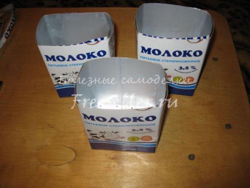 горшочки для рассады из бумаги своими руками