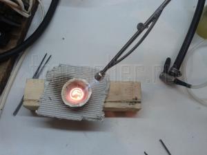 Как сделать горелку из телескопической антенны
