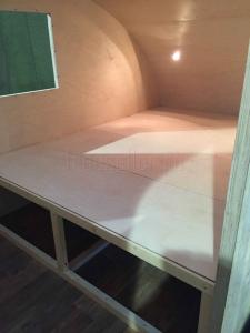 Изготовление прицепа Капля своими руками - Спальное место