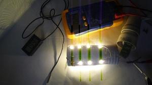 Как сделать светодиодную лампу из банки или балончика