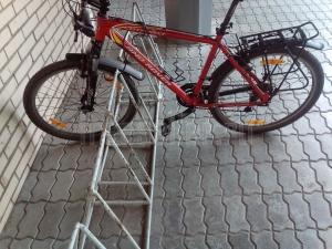 Велопарковка из стального прутка