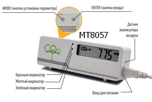 Детектор углекислого газа своими руками 66