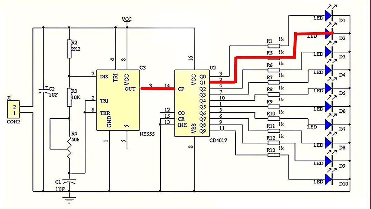 ШИМ - регуляторы оборотов двигателей на таймере 555»