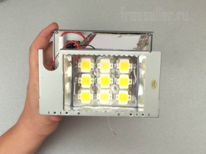 Делаем LED прожектор на 50W из хлама своими руками