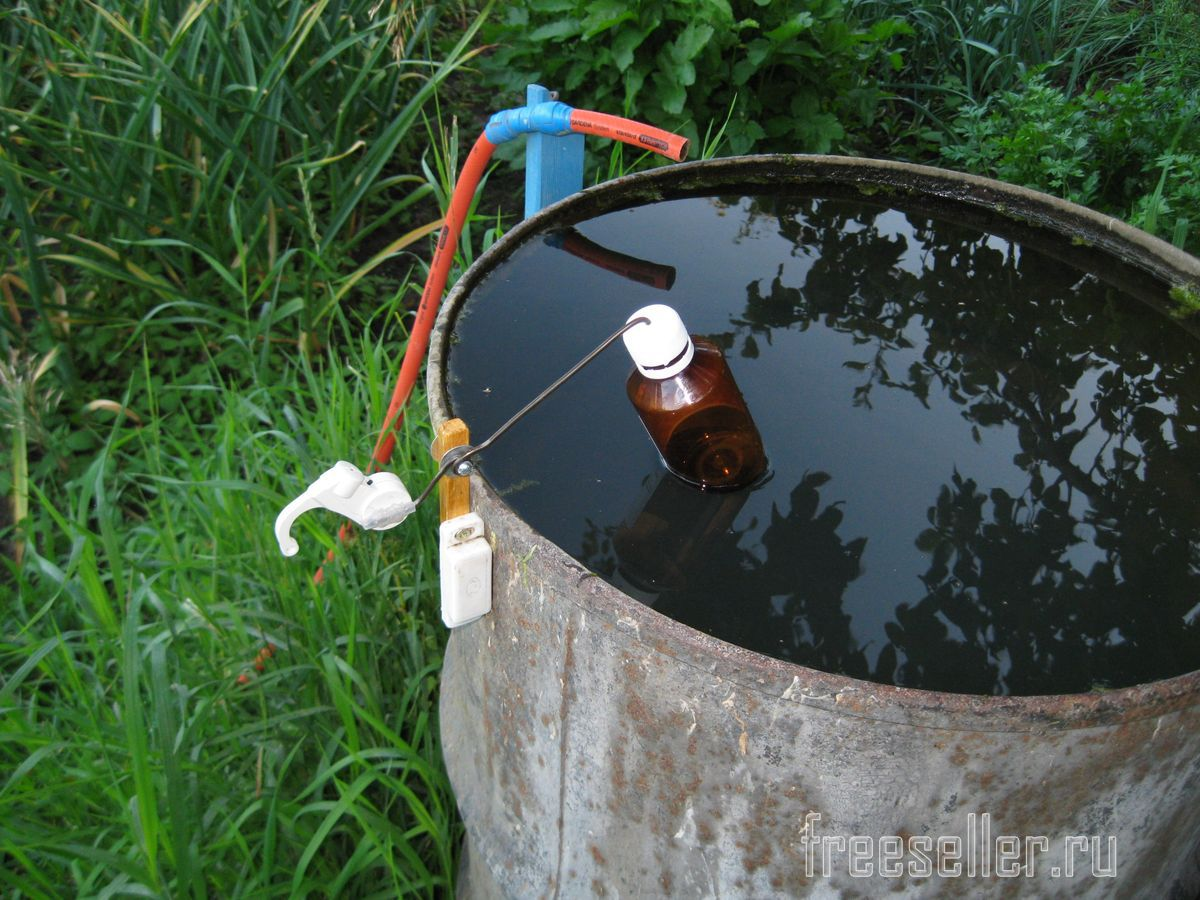 Как сделать что бы не было воды в гараже 128