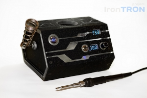 �������� �������� ������� DIY �� ���� Hakko T12. (DYI Project IronTron by S.PiC)
