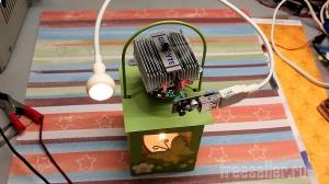 Простейший термоэлектрический генератор работающий от свечи